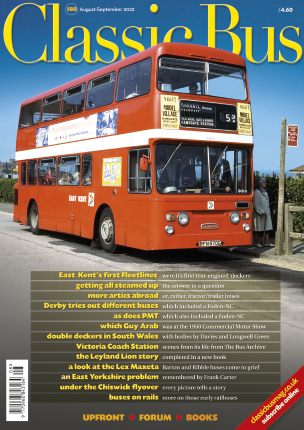 Classic Bus magazine cover